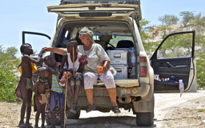 Familien på Farten i Afrika